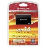 Multi-Lecteur de Cartes Mémoire Transcend RDF8 USB 3.0 Noir