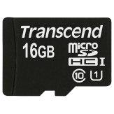 Carte mémoire Transcend MicroSDHC 16GB Classe 10 UHS-I