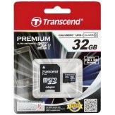 Carte mémoire Transcend MicroSDHC 32GB Class 10 UHS-I / incl. adaptateur