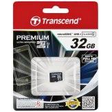 Carte mémoire Transcend MicroSDHC 32GB Classe 10 UHS-I