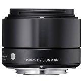 Objectif Sigma 19mm f/2,8 DN Sony Monture E - Noir