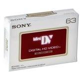 Cassette vidéo HDV Sony DVM 63