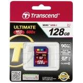 Carte mémoire SDXC Transcend 128GB Classe 10 / UHS-I