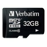 Carte mémoire microSDHC Verbatim 32GB Classe 10