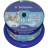 1x50 Verbatim CD-R 80 / 700MB 52x