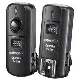 Émetteur Pro Walimex + récepteur Canon 2,4GHz