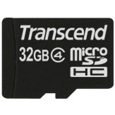 Carte mémoire Transcend MicroSDHC 32GB Classe 4