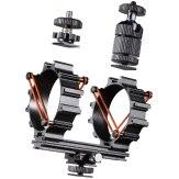 Support pour micros Wallimex pro + rail pour accessoires