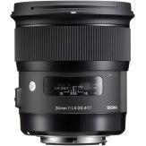 Objectif Sigma 24mm f/1,4 DG HSM Canon