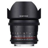 Objectif Samyang VDSLR 10 mm T3.1 ED AS UMC CS Canon M