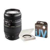 Kit Tamron 70-300mm f/4.0-5.6 Nikon F + Gloxy filtre UV