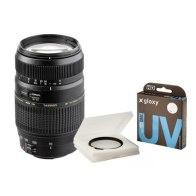 Kit Tamron 70-300mm f/4.0-5.6 Canon EOS + Gloxy filtre UV