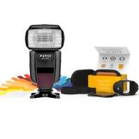 Flash Gloxy GX-F1000 TTL HSS + Modificateurs MagMod