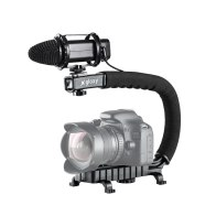 Kit Gloxy Stabilisateur vidéo Movie Maker + Microphone GX-M20
