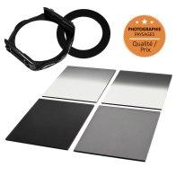 Kit Porte-filtres type P + 4 Filtres ND pour Sony DSC-V3