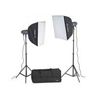 Kit Flash de studio VL-400 Plus Softbox Extra