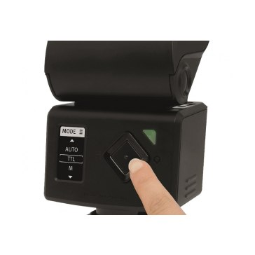 Flash Metz Mecablitz M400 pour Sony DSC-V3