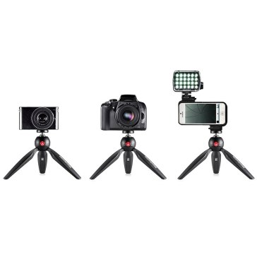 Manfrotto Pixi Mini-trépied Noir pour Sony DSC-V3