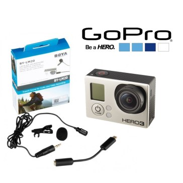 Micro-cravate Boya BY-LM20 pour GoPro