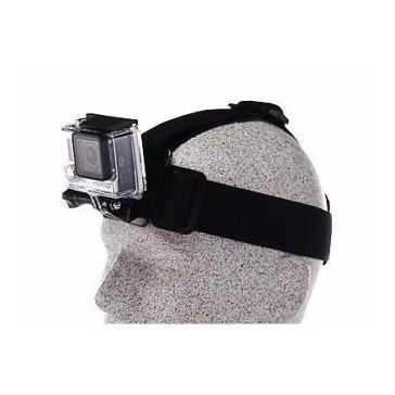 Sangle de tête + QuickClip pour GoPro