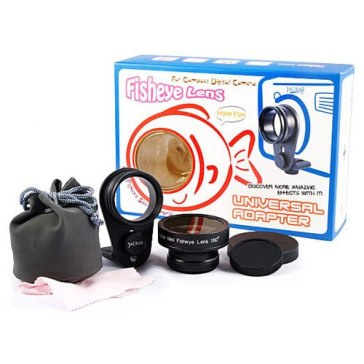 Kit Fish-Eye Universel pour Canon Ixus 800