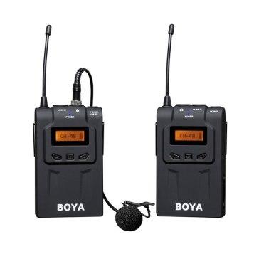 Boya BY-WM6 Micro-cravate sans fil UHF