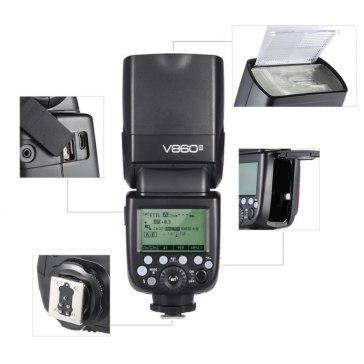 Godox V860II Flash pour Sony DSC-V3