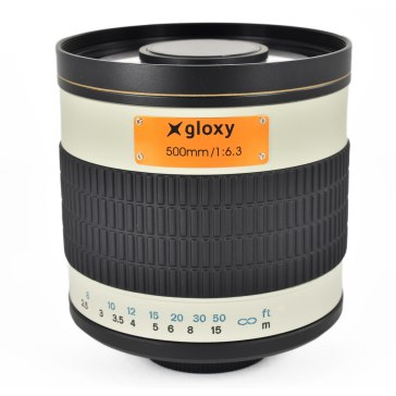 Gloxy 500mm f/6.3 Téléobjectif Mirror
