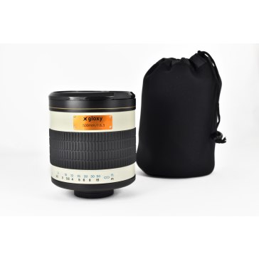 Kit Gloxy 500mm f/6.3 + Trépied GX-T6662A pour Sony A6100