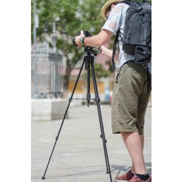 Trépied Gloxy GX-TS270 + Tête 3D pour Canon Ixus 800