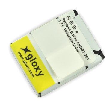 Batterie au lithium GoPro AHDBT-301 Compatible