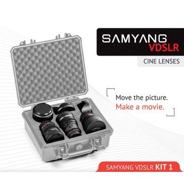 Samyang Kit Cinéma 14mm, 24mm, 35mm Sony E pour Sony A6100