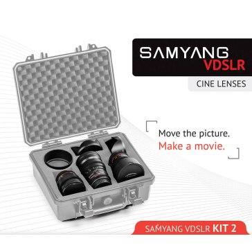 Samyang Kit Cinéma 14mm, 35mm, 85mm Sony E pour Sony A6100