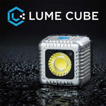 Torche LED Lume Cube argent
