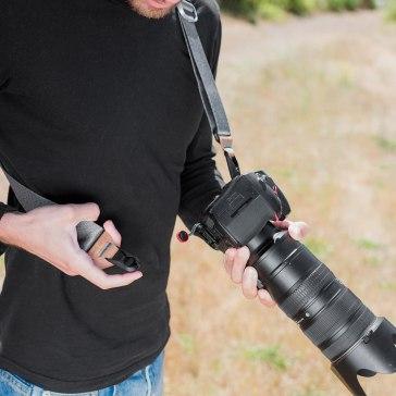 Peak Design SLIDE V2 Sangle Gris cendré  pour Sony A6600