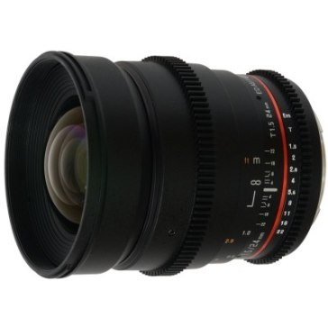 Objectif Samyang 24mm T 1.5 V-DSLR ED AS IF UMC Sony E pour Sony A6100