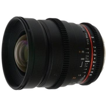 Objectif Samyang 24mm T 1.5 V-DSLR ED AS IF UMC Sony E pour Sony A6600