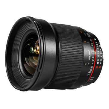 Samyang 16mm f/2.0 Grand Angle pour Sony A6600