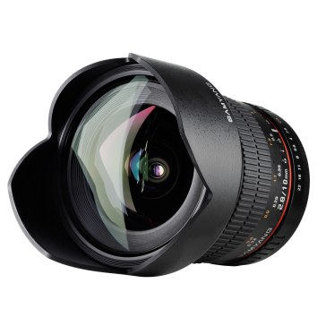 Samyang 10mm f/2.8 Super Grand Angle pour Sony A6100