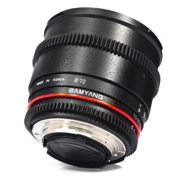 Samyang Objectif 85mm T1.5 V-DSLR AS IF UMC Sony E  pour Sony A6600