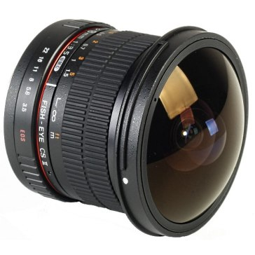 Samyang 8mm f/3.5 CSII Canon Objectif Fisheye
