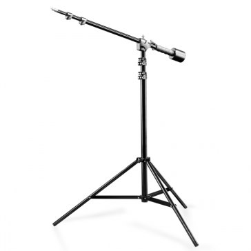 Support d'éclairage Walimex WT-806 + Bras Boom