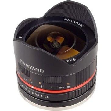 Samyang 8mm f/2.5 Fish-eye pour Sony A6600