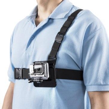 Fixation poitrine Mantona pour GoPro