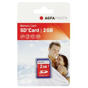 Mémoire SD 2GB pour Pentax Optio T20