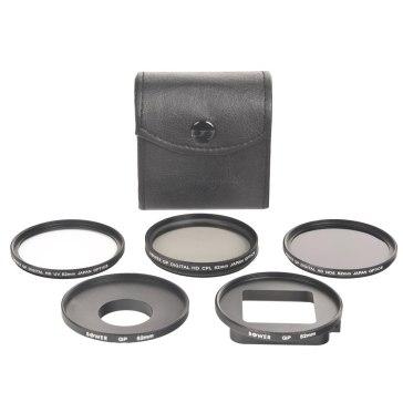 Kit de 3 filtres UV+CPL+ND8 pour GoPro Hero3+