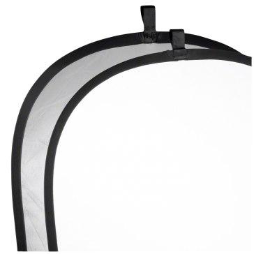 Réflecteur pliant Walimex Argenté / Blanc 91 x 122cm