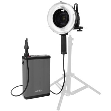 Kit de flash annulaire portable Walimex Pro GXR-400