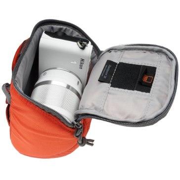 Lowepro Dashpoint 30 Etui Orange pour Pentax Optio T20